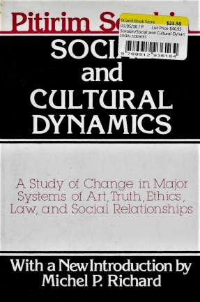 5 - 'Social and Cultural Dynamics' - abridged edition