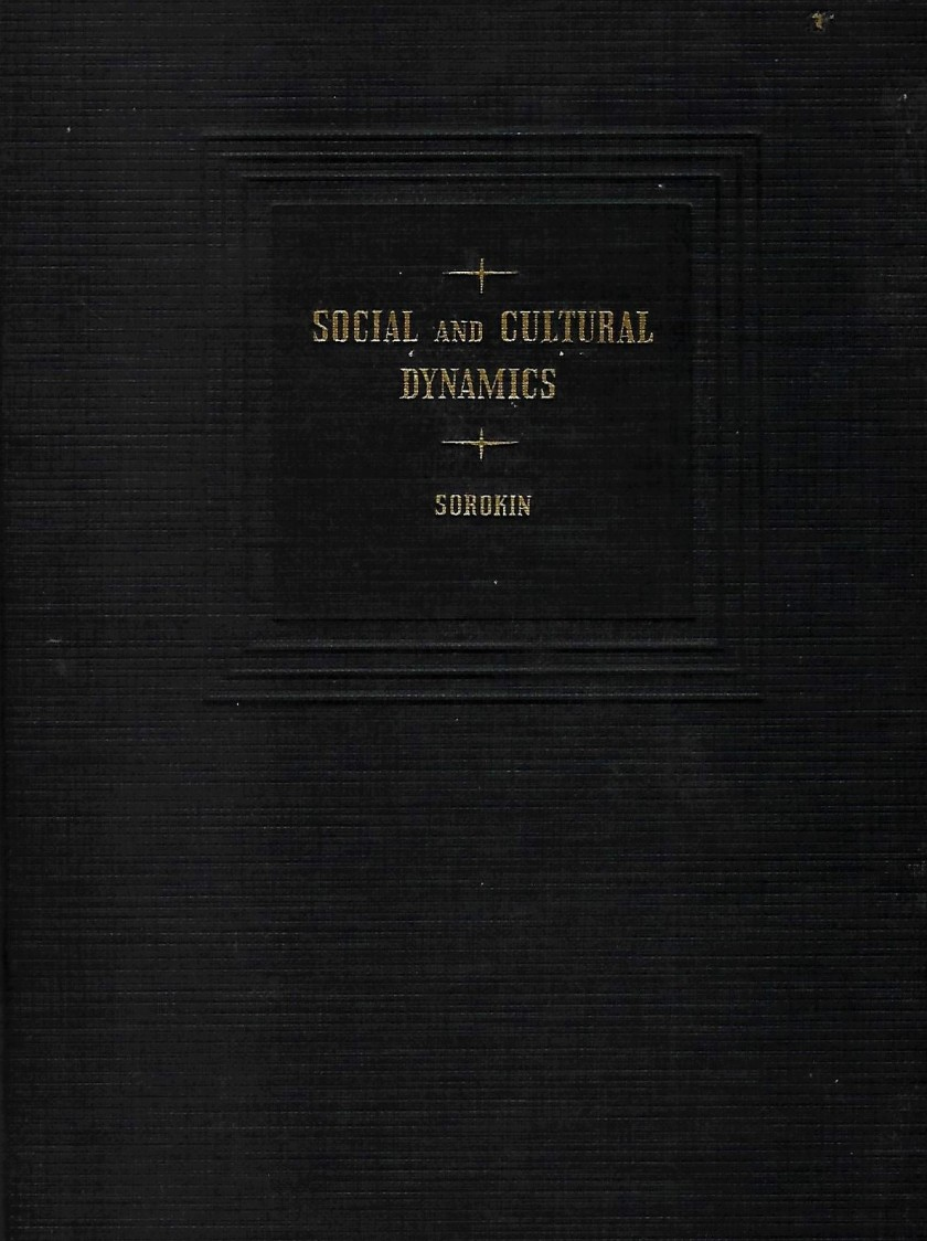 cover - Social and Cultural Dynamics