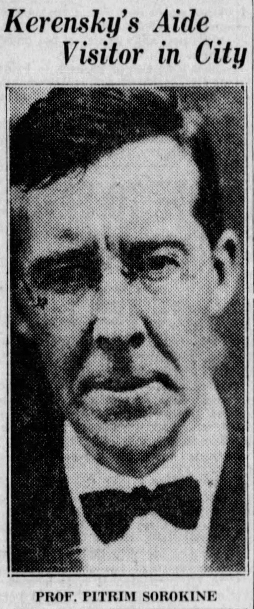Sorokin 1924